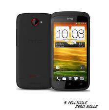 5 Pellicola per HTC One S Protettiva Pellicole SCHERMO DISPLAY ONE S LCD