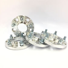 4pc 15mm Wheel Adapters | Hubcentric 5x114.3 to 5x100 66.1mm Bore | 12x1.25 Stud