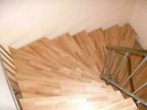 ! SALE ! Treppenstufen Buche massiv Stufen Holzstufen Holz Treppen NEU