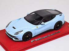 1/18 BBR Ferrari F12 Berlinetta Botticelli blue Carbon roof C4F018 Lim 10 pcs