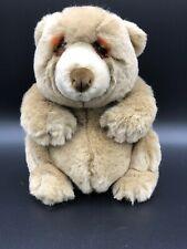 """DakIn Little Friends 9"""" Jasper Teddy Bear Plush Stuffed Animal Vintage Lou Rakin"""