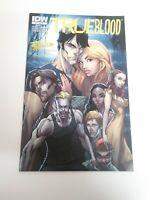 True Blood 1 Gold Foil Jetpack Variant J. Scott Campbell NM IDW