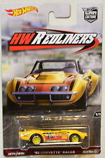 HOT WHEELS 2017 CAR CULTURE HW REDLINERS '69 CORVETTE RACER #5/5