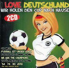 DOPPEL-CD NEU/OVP - I Love Deutschland - Wir holen den Cup nach Hause