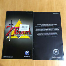 Nintendo Gamecube Manual Only - The Legend of Zelda Collectors Edition