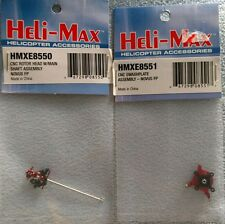 Heli-Max CNC Swashplate & Rotor Head w/ Main Shaft Assembly HMXE8551 & HMXE8550