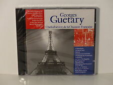 CD ALBUM Chefs d oeuvre de la chanson francaise GEORGES GUETARY CF 009  NEUF