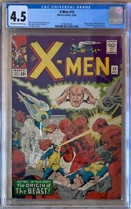 X-Men 15 CGC 4.5 First Appearance of Master Mold