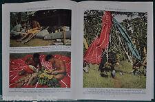 1945 magazine article Fiji Infantry Regiment, Bougainville Solomons Color photos