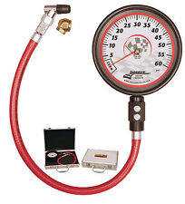 "Longacre Motorsport Pro Tyre Pressure Gauge 0-60 PSI With Huge 4.5"" Dial Face"