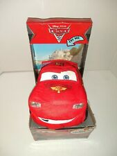 New in Box Disney Pixar Cars 2 Talkin Race Pal Lightning McQueen Talking Plush