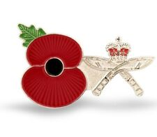 Poppy Lapel Pin Badge Royal Gurkha rifles