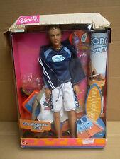 Barbie CALIFORNIA GIRL BOY AMICO KEN BLAINE ESTATE SPIAGGIA man bambola 2004 MATTEL