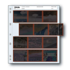 25x Print File 120-4UB Archival 6x7 120 Film Negatives Pages Sleeves Preservers