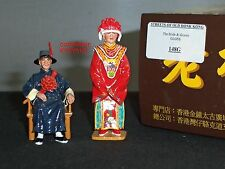KING AND COUNTRY HK148G STREETS OF OLD HONG KONG CHINESE BRIDE GROOM FIGURE SET