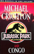 Jurassic Park and Congo by Crichton, Michael