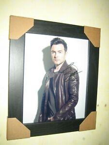 Shane Filan {Westlife} Excellent Hand Signed Photograph {10x8} Framed + CoA