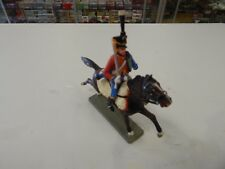 plastic Hussar Napoleonic Cavalry by Starlux made in France