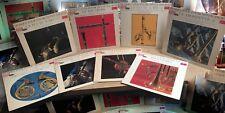 Lot 8 LP Musique pour instruments anciens VOL. 2,4,6,7,8,9,11,12 MODE *