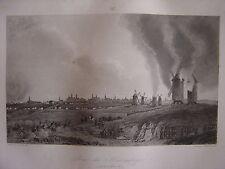 Grande gravure Prise de KOENIGSBERG  Königsberg Kaliningrad 14 et 15 Juin 1807