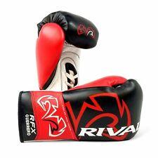 Rival Boxen Rfx Guerrero Hde-F Pro Kampf Handschuhe Geschnürt Schwarz/Rot
