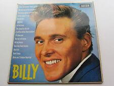BILLY FURY   ORIGINAL  1963  UK LP    BILLY    DECCA LK 4533