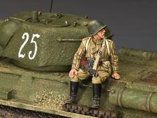 King & Country Herbst von Berlin RA046 Russische Infanterie Sitzender Burp