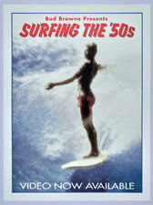 Bud Browne surf movie Poster - Surfing the 50s