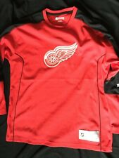 Detroit Red Wings NHL Exclusive Club Red jersey L