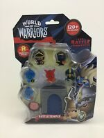 World of Warriors Battle Temple Figures 8 Warrior Toy Mindy Candy Sealed A4 2015