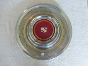 """Cadillac Fleetwood Brougham Deville - 15"""" Hubcap Wheel Cover - 1980 1981 - NICE!"""
