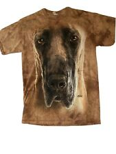 The Mountain Great Dane Dog Face T-Shirt New Size Medium