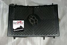 Kühlerblende Honda ZX9R Bj.01 mit Schlagring, schwarz