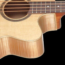 Teton STB130FMCENT Acoustic Electric Bass Guitar ONLY Spruce Top & Flamed Maple