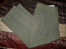 New Mens Habands Gold Coast Green Dress Pants Size 40 XS (40 × 26)