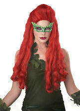 Lethal Beauty Sexy Villain Poison Ivy Batman Costume Wig