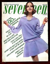 Seventeen Magazine ~ April 1969 ~ Lucy Angle Michael York Summer Fashion