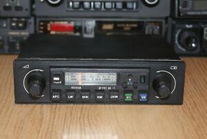 Tesla 2110B 70s Vintage Car Stereo Warranty MP3 Skoda Trabant Wartburg FSO FSM