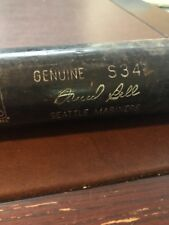 David Bell Seattle Mariners Louisville Slugger Cracked Game Used Bat MLB