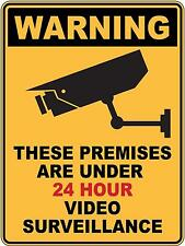 Warning Video Surveillance Sticker Sign Decal Set For Public Safety WH&S OHS WHS