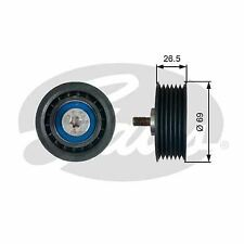 GATES T38099 Deflection/Guide Pulley, v-ribbed belt