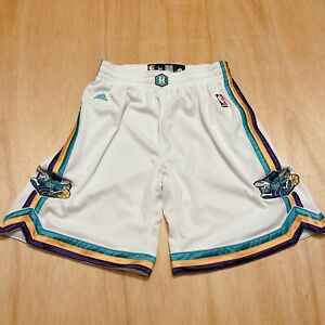 100% Authentic New Orleans Hornets Adidas Shorts Size 34 M Mens