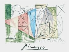 Joueur de Flute et Gazelle, Limited Edition Lithograph, Pablo Picasso