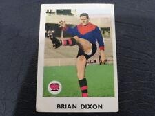 1965 SCANLENS CARD NO.9 BRIAN DIXON #10