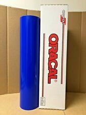 Oracal 651 1 Roll 24 X 50yd 150ft Brilliant Blue 086 Gloss Sign Vinyl