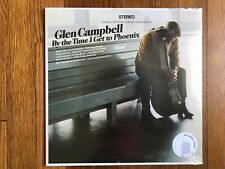 Glen Campbell By the Time I get to Phoenix LP Vinyl '13 (SEALED - NEW)