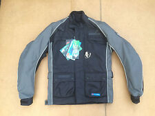 "FRANK THOMAS Mens Textile Motorbike / Motorcycle Jacket Size UK 36"" Chest (B2)"