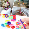 100pcs Cute Elastic Rope Baby Girl Fashion Hair Ties Ponytail Holders Hairbands