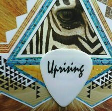 TED NUGENT Uprising Tour white guitar pick