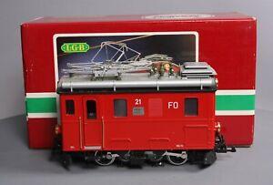 LGB 2046 #21 RhB Rack Electric Locomotive LN/Box